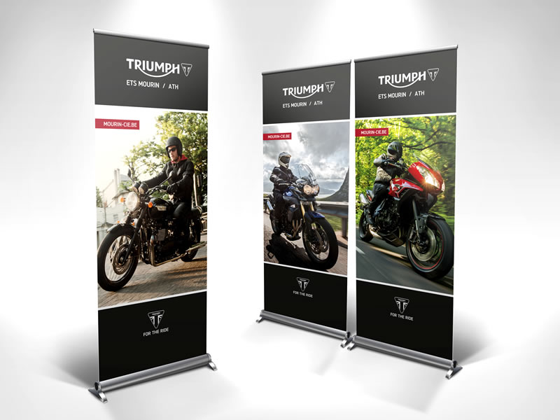 Roll up - 3 x Triumph